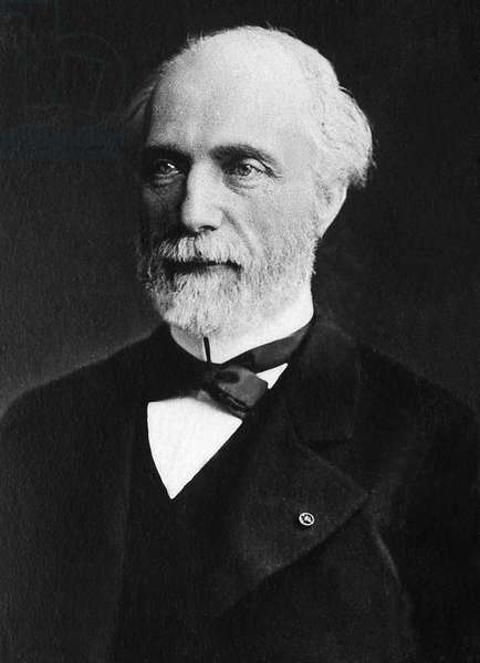 Louis Charles de Saulces de Freycinet (1828-1923), engineer of the Mines, physicist, academician elected in 1890.