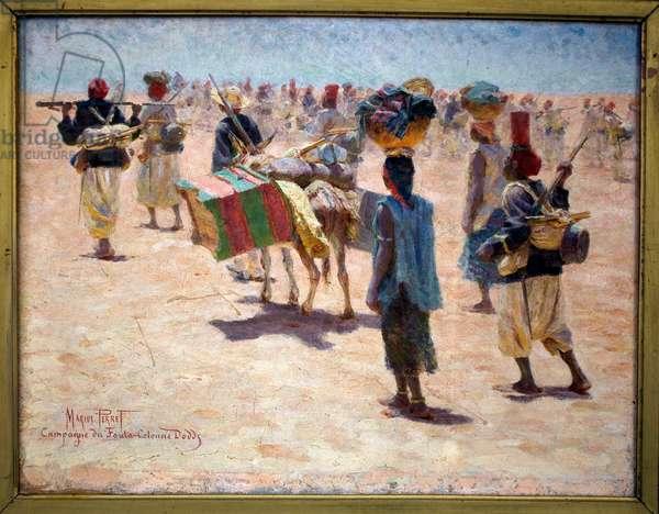 The Senegalese Riflemen, c.1890 (oil on canvas)
