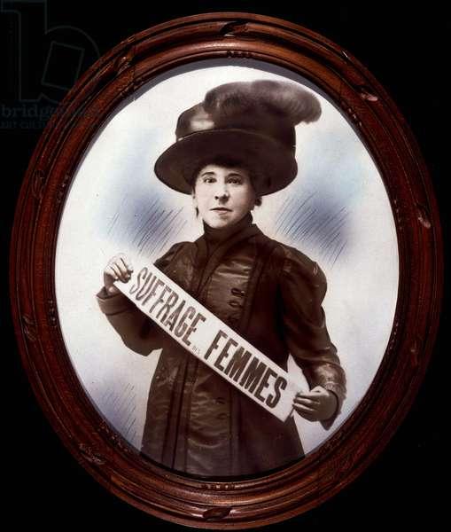 Portrait of Hubertine Auclert (photo)