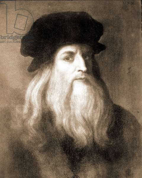 Portrait of Leonardo da Vinci (1452 - 1519)