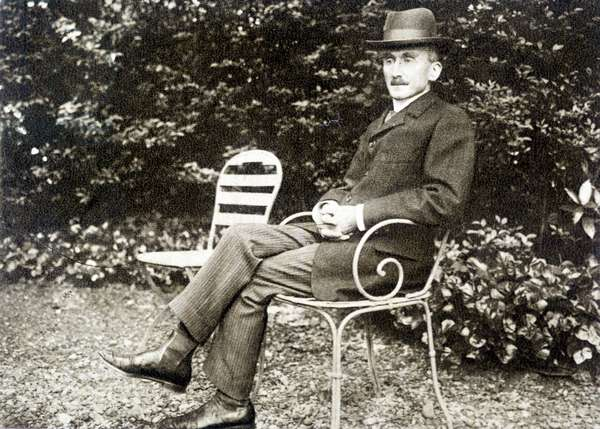 Portrait of Henri Bergson (1859 - 1941) in 1910