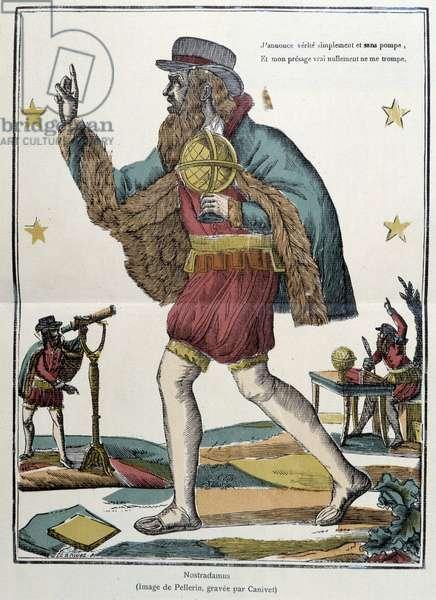 Nostradamus - image of Epinal, 19th century. Canivet