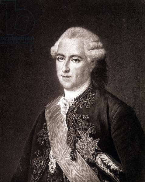 Portrait of Louis XV.