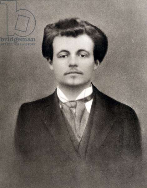 Portrait of Alfred Jarry c.1900 (b/w photo)