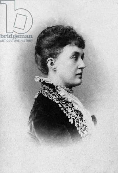 Portrait of Adelaide Marie by Anhalt Dessau (Anhalt-Dessau) (1833-1916), Grand Duchess of Luxembourg.