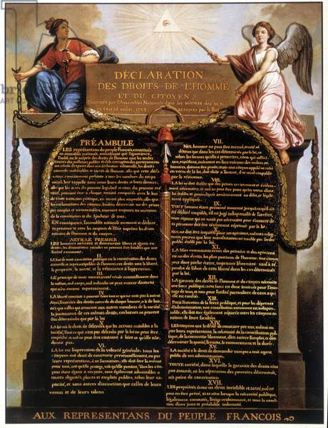 Declaration of Human and Citizen Rights of 1789
