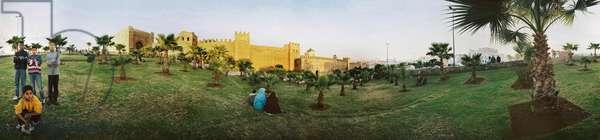 Panoramic 360 degrees by Leonard de Selva, Morocco, 2004.