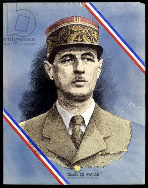 Portrait of Charles de Gaulle, v.1946
