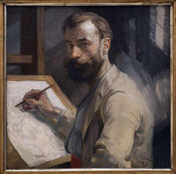 Self-portrait. Painting by Frantisek (Francois) Kupka (1871-1957), Oil On Canvas 1905. Czech art, 20th century. Veletrzni Palace (Fairs Palace), Prague (Czech Republic).
