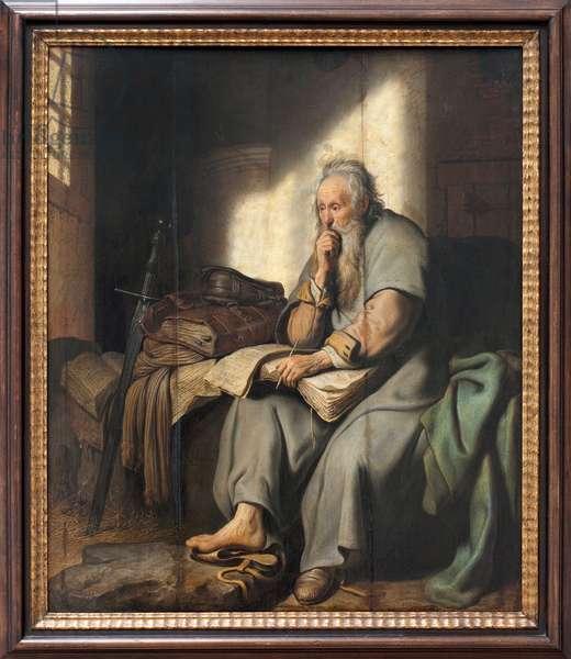Saint Paul in Prison, 1627 (oil on panel)