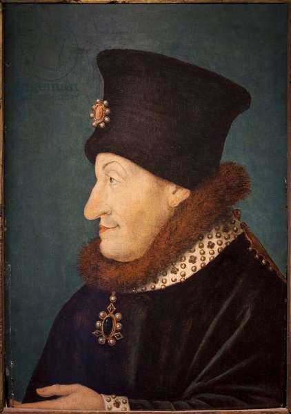 Portrait of Philippe Le Hardi, Duke of Burgundy (oil on wood panel)