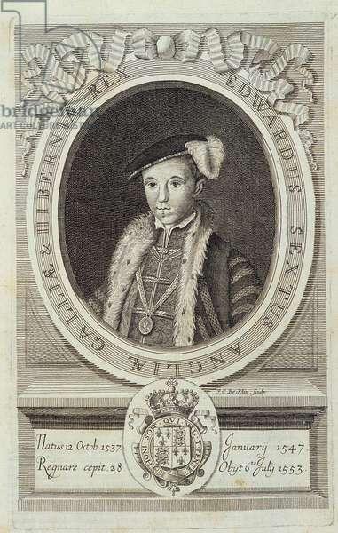 """Portrait of Edward VI in """""""" Historia Reformationis Ecclesiae Anglicanae..."""""""", Geneva, 1689"""