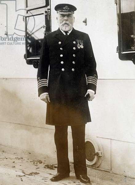 Captain Smith, Commander of the Titanic