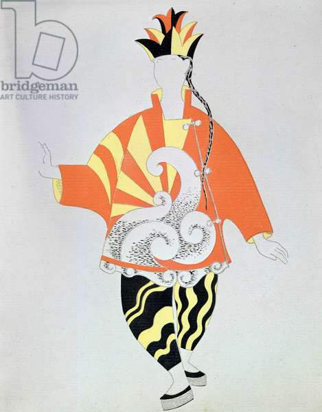 """Picasso costume for """""""" Parade (1917)"""""""", ballet by Erik Satie (1866 - 1925)."""