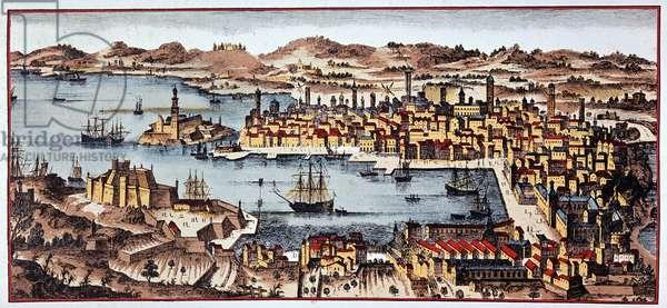 Marseille in 1680 - B.N.