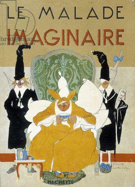 Illustration by Felix Lorioux (1872-1964), Hachette, Paris, 1928.