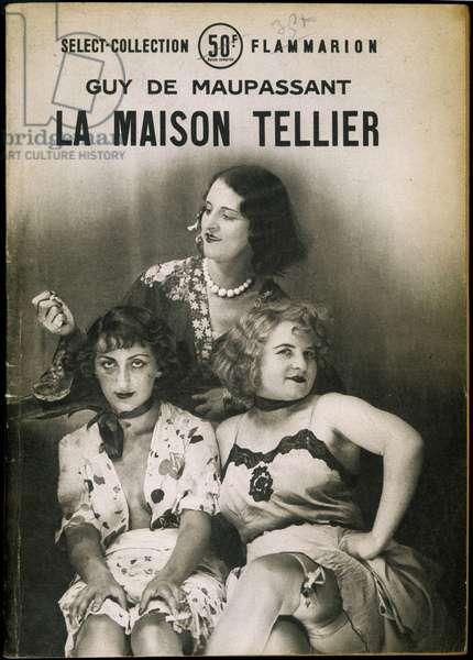 "Prostituees - cover ""La maison Tellier"""" by Maupassant"