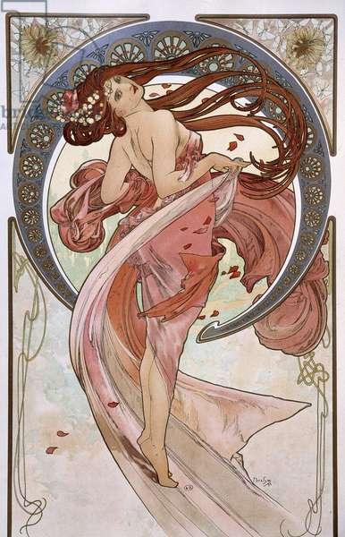 La Danse - by Mucha, 1898.
