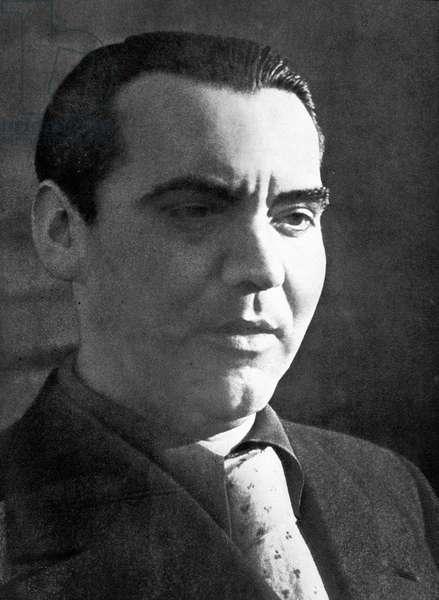 Portrait of Federico Garcia - Lorca
