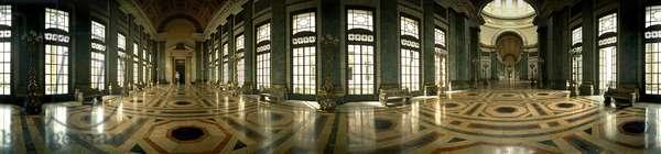 The Capitol Hall, Havana. Panoramic 360 degrees by Leonard de Selva, Cuba, 2001.