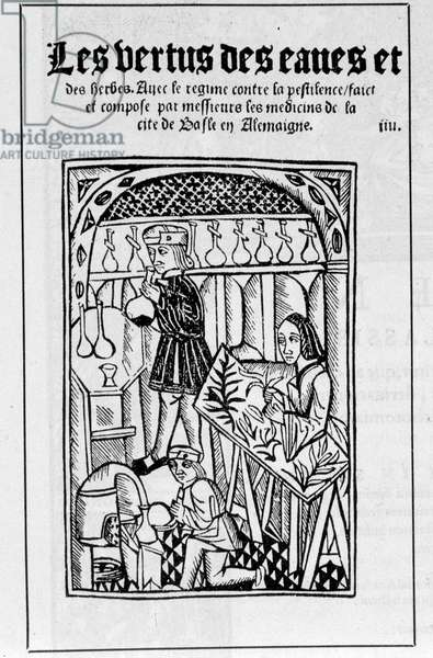 The shop of an apothecary in the 16th century