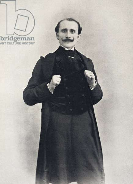 """Portrait en pied de Edmond Rostand - in """""""" Le Theatre"""""""" n¡32"""