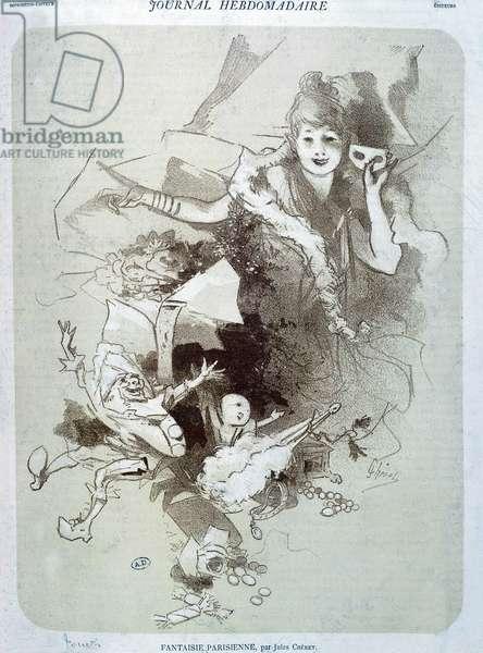 Parisian Fantasy: Puppets - Poster by Cherret