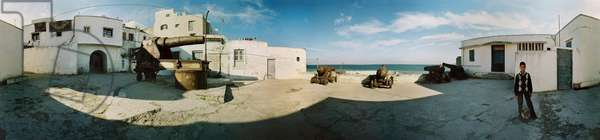 The canons in Tangier. 360-degree panoramic by Leonard de Selva, Morocco, 2004.