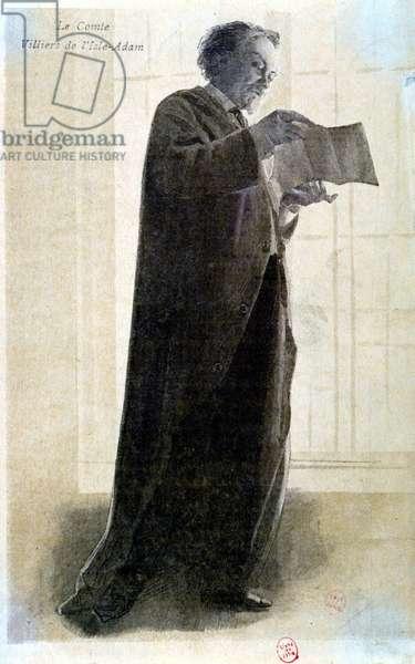 The Augustus Count Villiers de L'Isle Adam (Isle-Adam) (1838-1889)