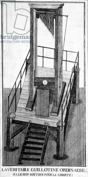 The true ordinary guillotine: Ha the right support for freedom!
