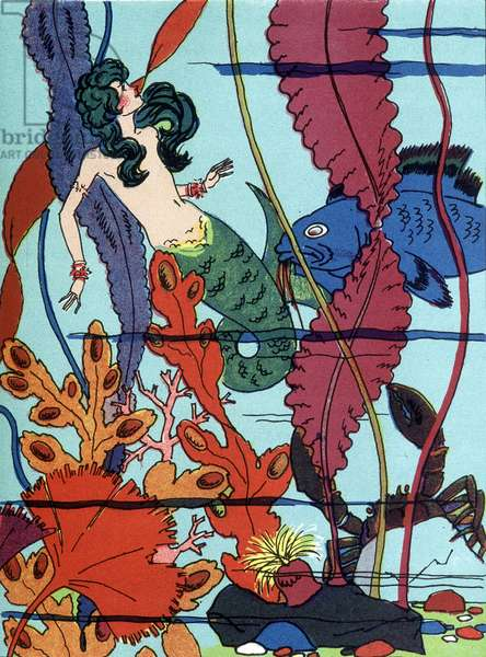 """The Little Mermaid - in """""""" Tales"""" by Hans Christian Andersen, 20th century"""