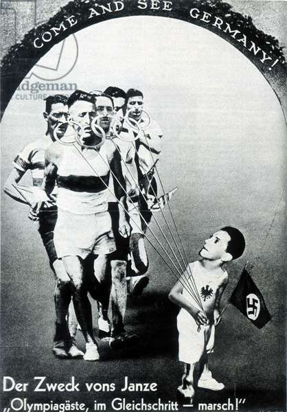 Come and see Germany, 1936 (photomontage)