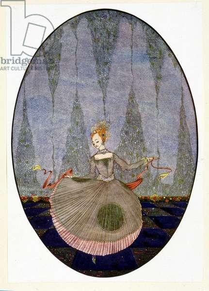 """Dancing over the floor as no one had yet danced - in Andersen's """"The Little Mermaid"""""""