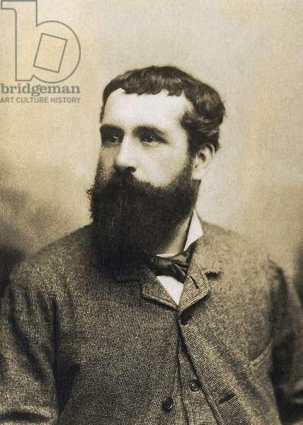 Portrait of Claude Monet (1840-1926), French painter.
