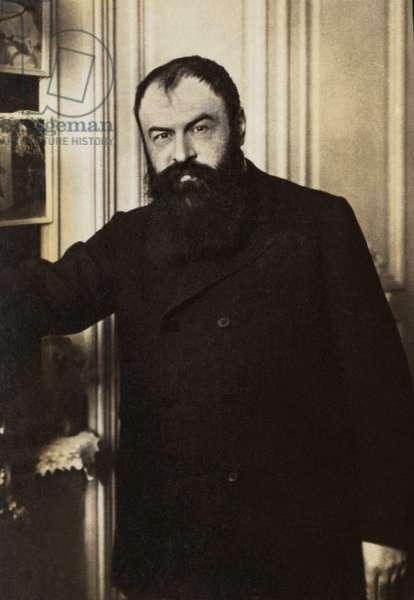 Portrait of Tristan Bernard (1866-1947), French writer.