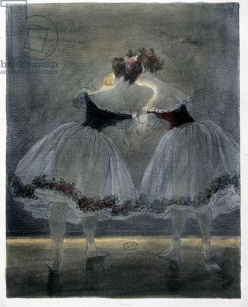 Dancers of Gavarni - 19th century