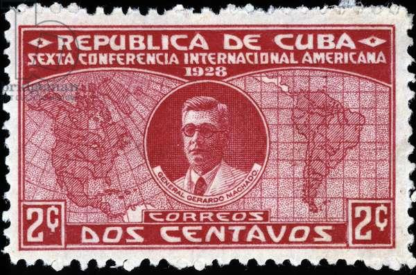Cuban stamp, 1928