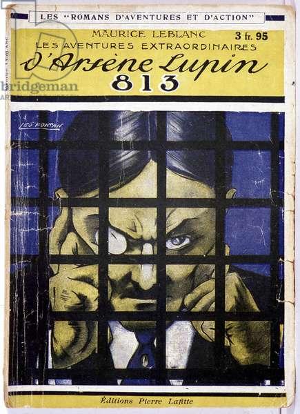 Les aventures d'Arsène Lupin: 813 - Couv. de roman. Ed. Pierre Lafitte.