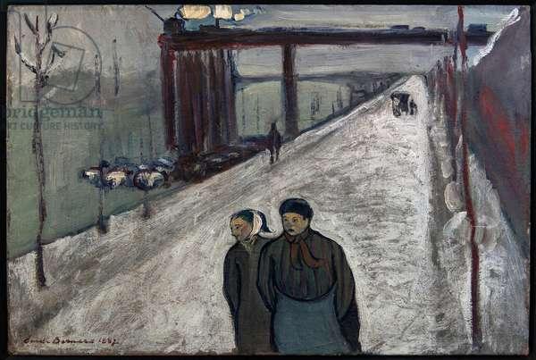 Quai de Clichy - 1887 (oil on canvas)