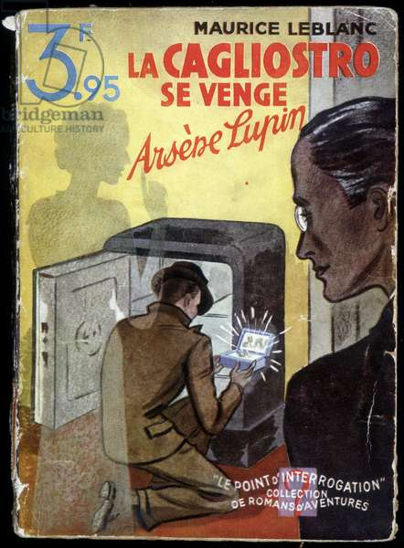 The Adventures of Arsene Lupin: La Cagliostro se venge - Couv. de roman