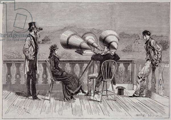 "The megaphone by Thomas Edison - in """" La Nature"""" 1878"
