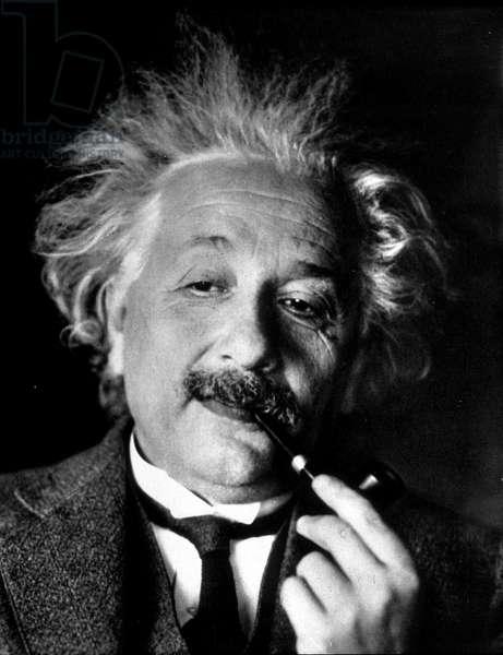 Portrait of Albert Einstein, 1930s