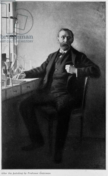 Portrait of Alfred Nobel by Osterman.