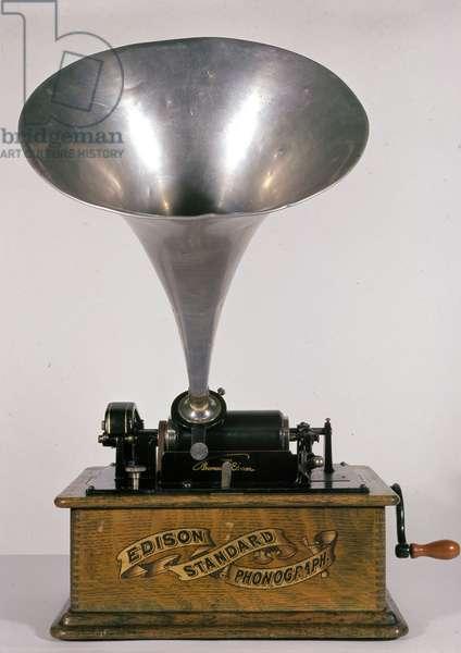 Edison Phonograph 1900 - Museum of Techniques