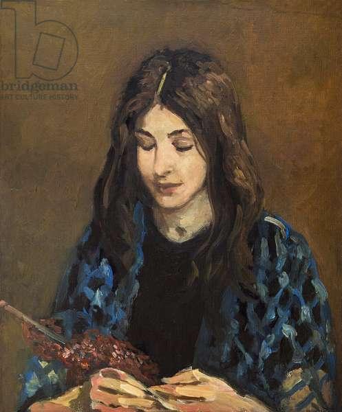 Femme tricotant (painting)