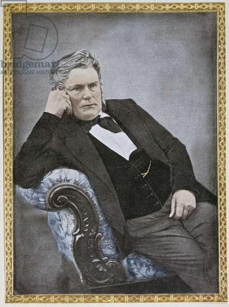 Emmanuel Nobel, father of Alfred Nobel, 1853