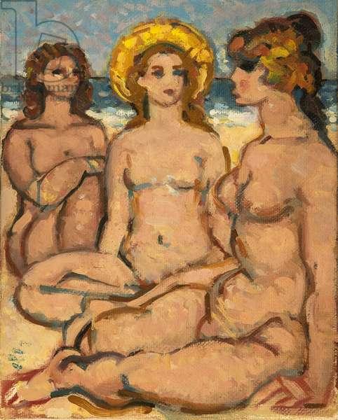 Trois femmes sur la plage (painting)