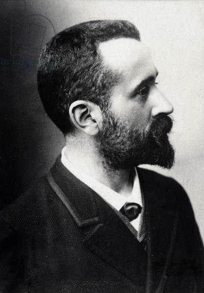 Alphonse Bertillon (1853-1914), French scholar, creator of anthropometry.