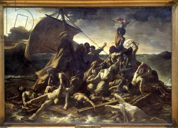 Le Raft de la meduse by Theodore Géricault, 1819, Musee du Louvre.