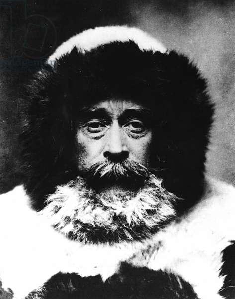Portrait of Robert Edwin Peary (1856-1920).